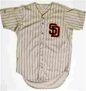 1987 Goose Gossage Padres Game Used Jersey