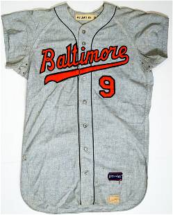 1967 Don Buford Baltimore Orioles Game-Worn Jersey