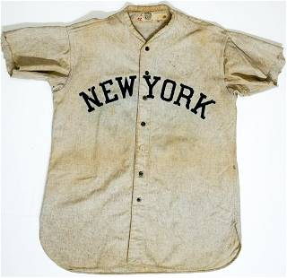 C.1920's/30's New York Jersey of Unknown Origin #5