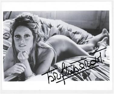 Brigitte Bardot Photo Signed Beckett COA