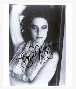 Debra Winger Signed Photo Beckett COA