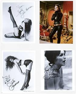 Julie Newmar (4) Photos Signed Beckett COA's