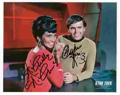 Signed Star Trek Photo [Nichelle Nichols; Koenig]