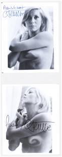 Catherine Deneuve (2) Signed Photo Beckett COA