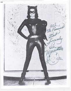 Lee Merriweather Signed Photo [Catwoman]