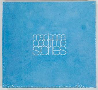 Madonna Factory Sealed Bedtime Stories Blue Velvet