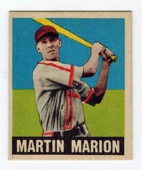 1948 Leaf Marty Marion