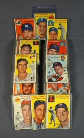1954 Topps Baseball Cards