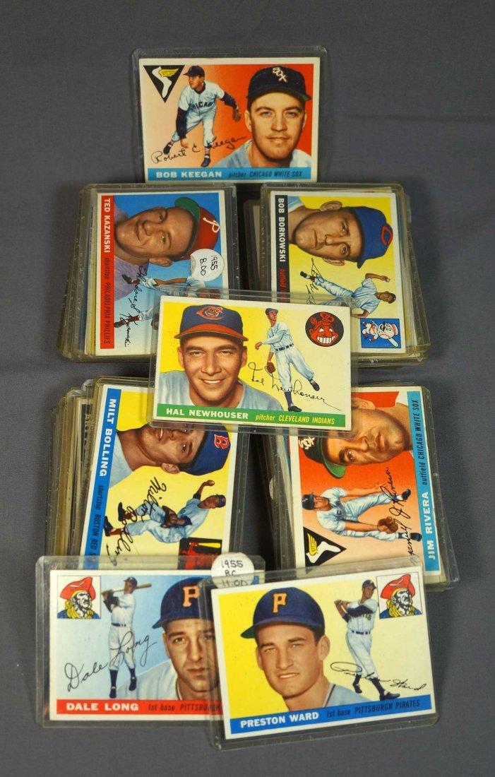 1955 Topps Baseball Cards (54)