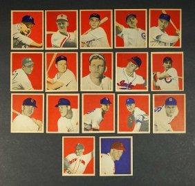 1949 Bowman Baseball Cards (34)