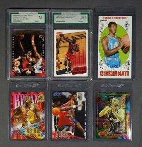 Group of Vintage Basketball Cards