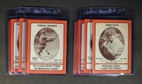 1976 Motorola Baseball Complete Set