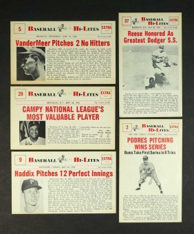 1960 Nu-Card Baseball Hi-Lites