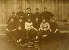 Antique Vancouver BC Baseball Team Photograph