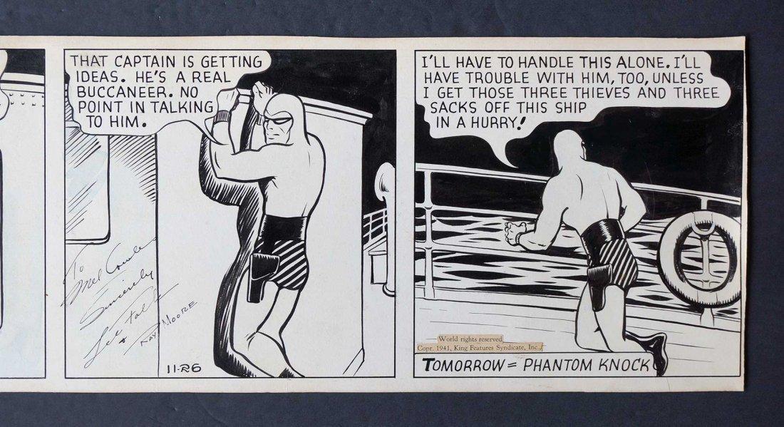 Lee Falk & Ray Moore The Phantom Orig Daily Strip