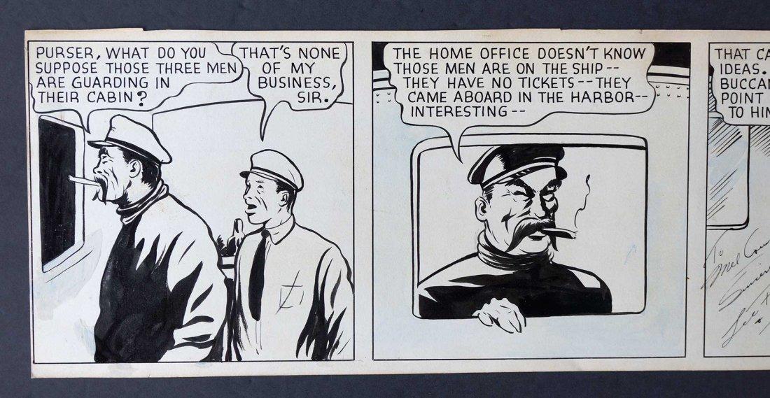 Lee Falk & Ray Moore The Phantom Orig Daily Strip - 2
