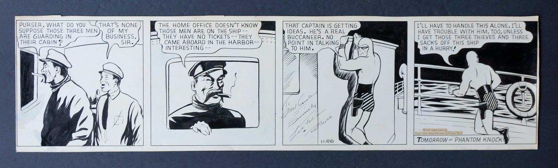 Lee Falk & Ray Moore The Phantom Orig Daily Strip - 3
