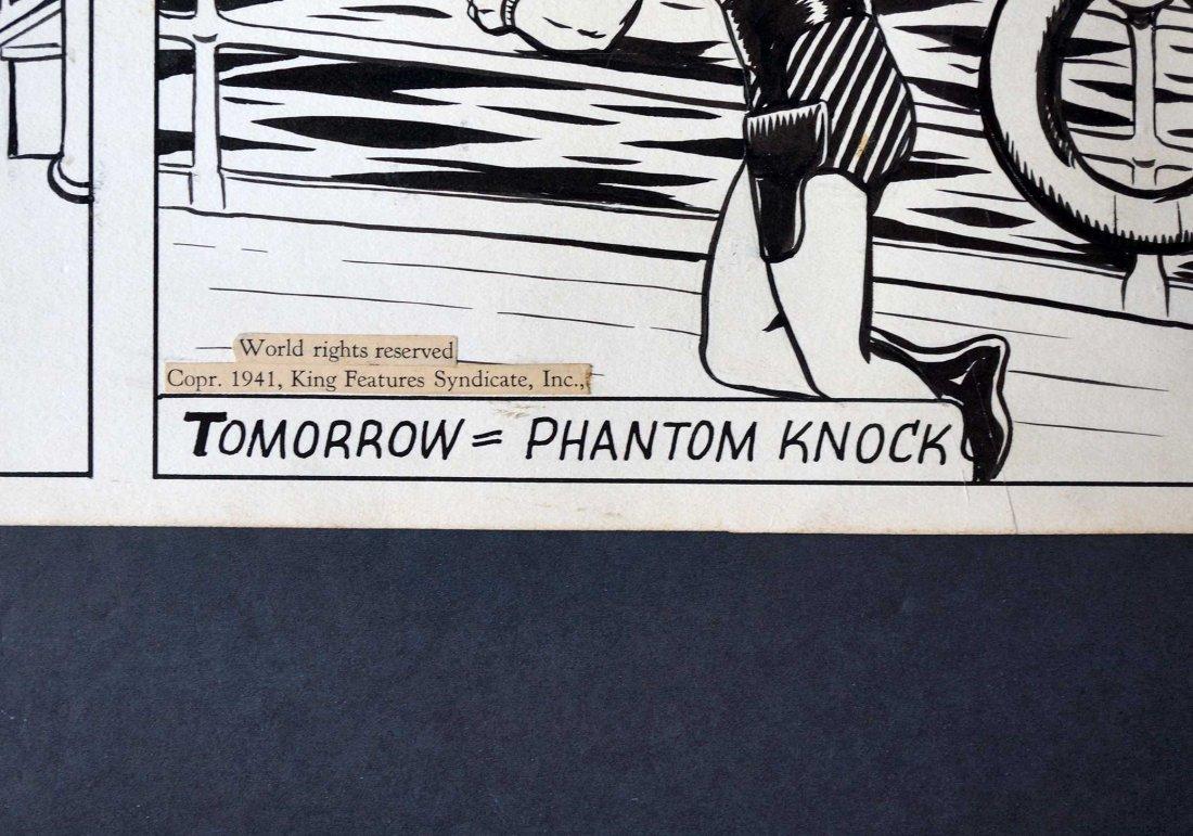 Lee Falk & Ray Moore The Phantom Orig Daily Strip - 6