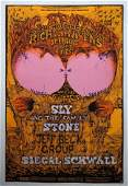 Big Brother and the Holding Company poster 1968