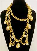 Judith Leiber Shell Necklace
