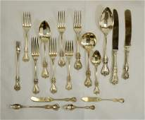 Towle Old Colonial Sterling Flatware Set (170) Pcs
