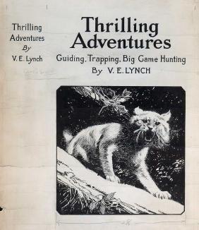 Thrilling Adventures Original Pen & Ink Cover Art