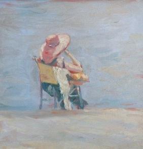 Doug Stotts (20th/21st century, CA) Oil on Canvas