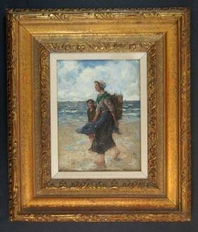 Cornelius Koppenol (1865-1946) Oil/Board
