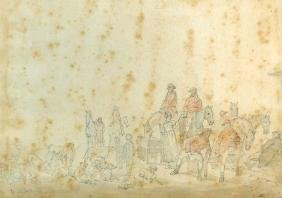 Henry Thomas Alken (1785-1851) Drawing