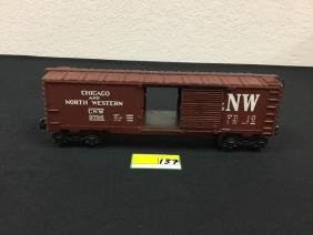 VINTAGE LIONEL CHICAGO AND NORTH WESTERN 6-9786 BOX CAR