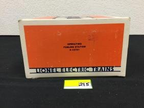 VINTAGE LIONEL OPERATING FUELING STATION. NIB 6-12701