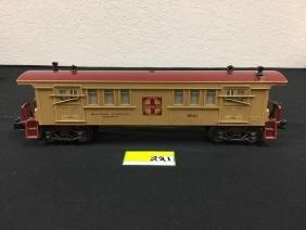 LIONEL RAILWAY EXPRESS AGENCY BAGGAGE CAR. 9541