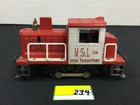 LIONEL M. ST. L 56. MINE TRANSPORT SWITCHER. HARD TO