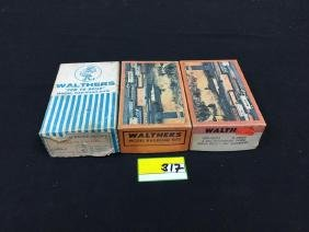 ASSORTED WALTHERS RAILROAD KITS FOR SERIOUS RAILROADERS