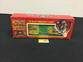 K LINE RINGLING BROS. AND BARNUM & BAILEY CIRCUS BOX