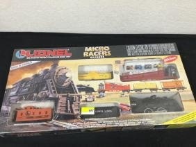 "VINTAGE LIONEL ""MICRO RACERS EXPRESS"" SET. COMLPETE AND"