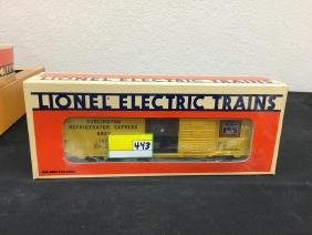 VINTAGE LIONEL BURLINGTON REFRIGERATOR EXPRESS WITH ICE