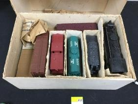 VINTAGE ALLSTATE ELECTRIC TRAIN SET. 9625 MAY BE