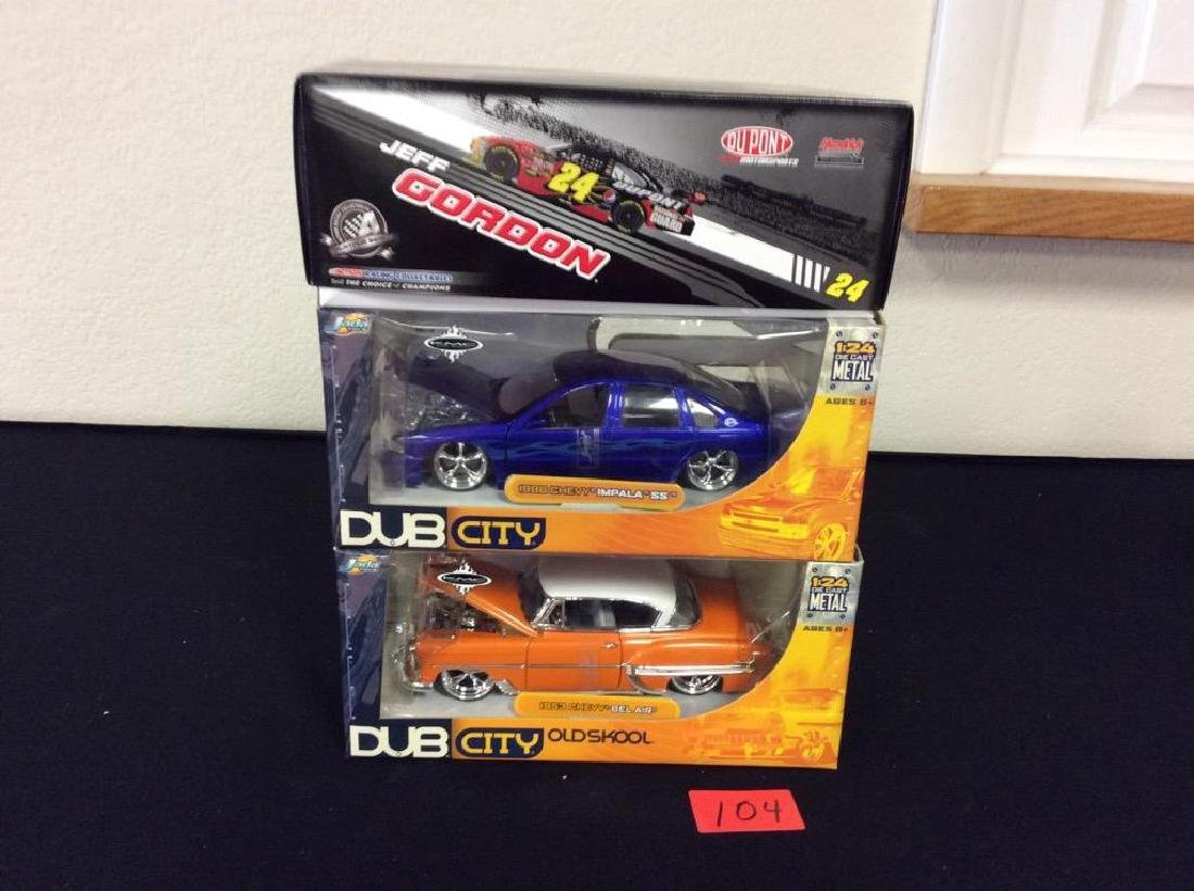 GRAB BAG OF COOL 1:24 DIE CAST CARS. TWO DUB CITY AND