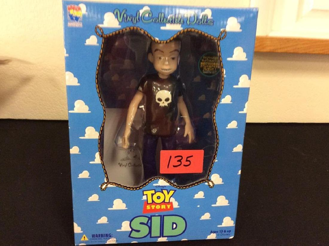 """RARE, HARD TO FIND TOY STORY, """"SID"""" NIB UNOPENED AND"""