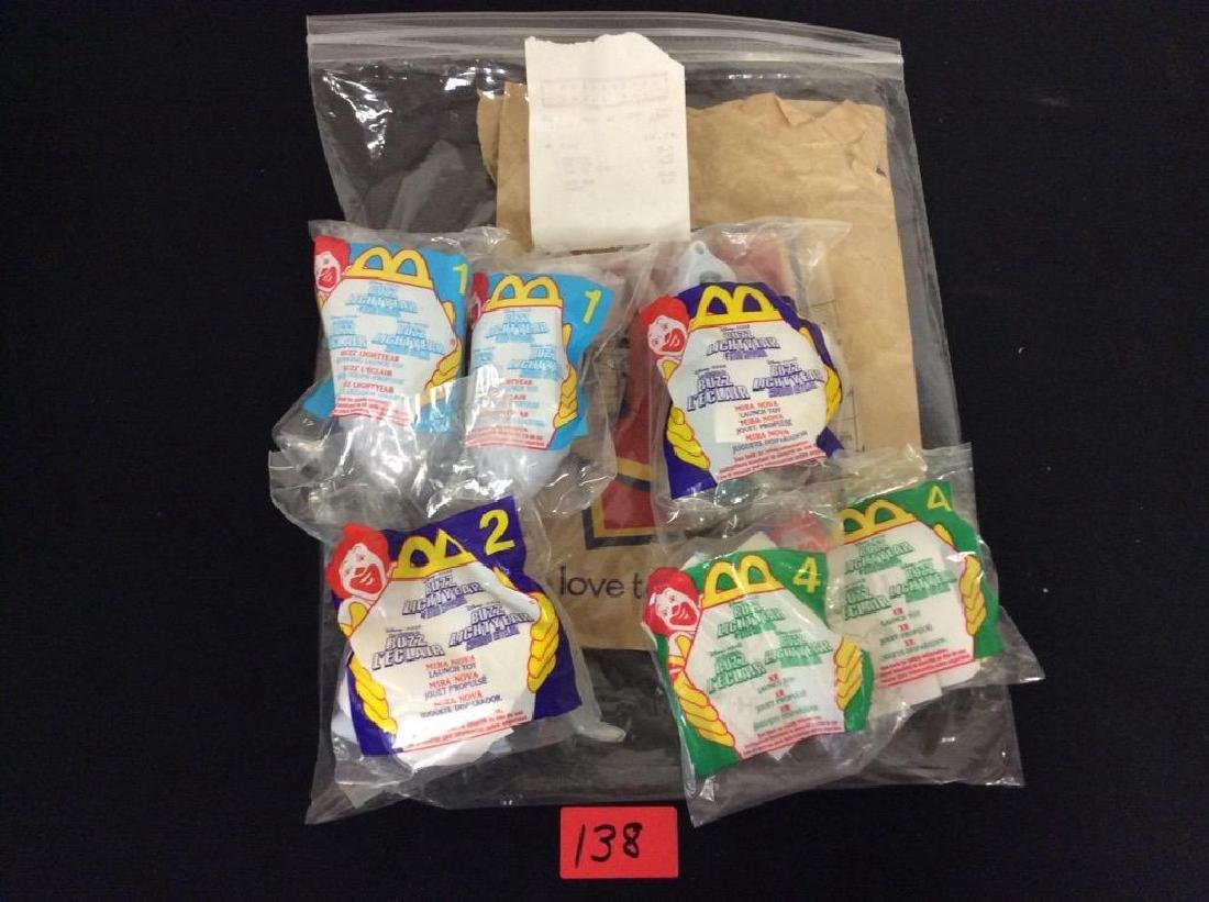 VINTAGE ORIGINAL TOY STORY HAPPY MEAL PRIZES. TWO #1
