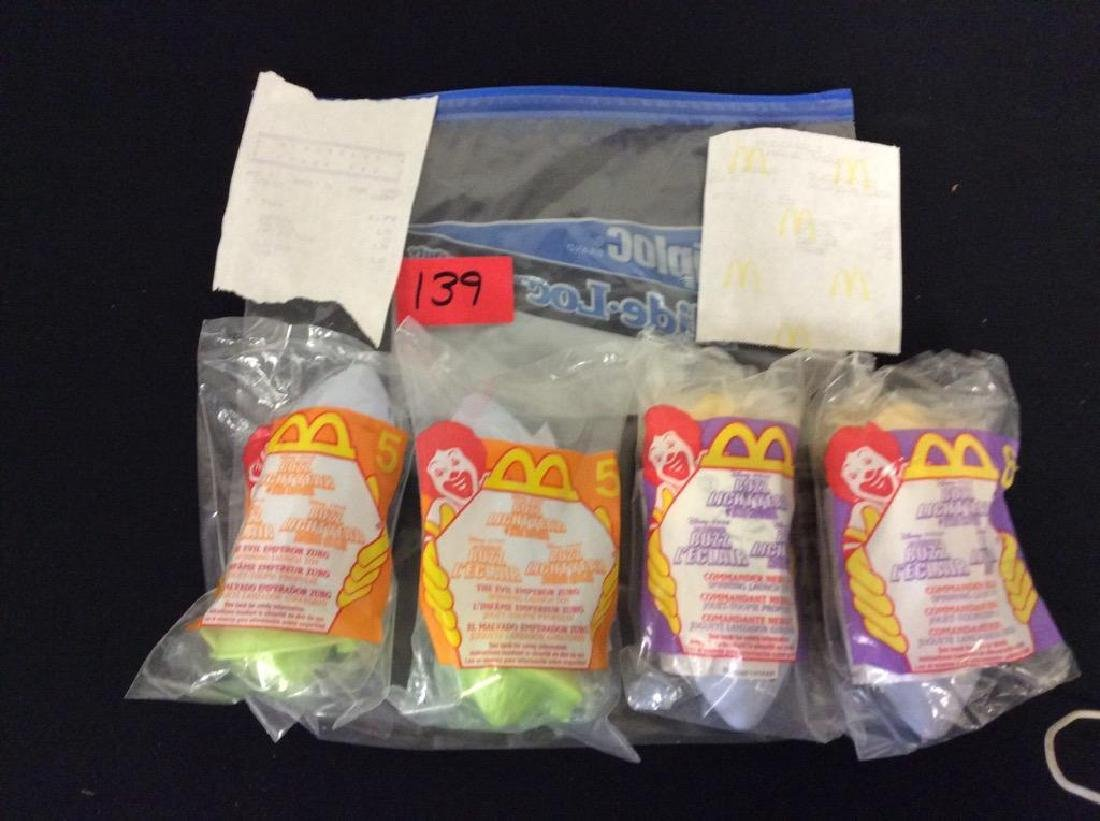 VINTAGE ORIGINAL TOY STORY HAPPY MEAL PRIZES. TWO #5