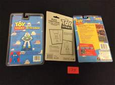 VINTAGE ORIGINAL NICE MIX OF TOY STORY PIECES. ONE BUZZ