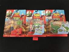 VINTAGE THINK WAY TOY STORY ACTION FIGURES. ONE REX,