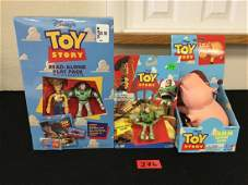VINTAGE VINTAGE THINK WAY TOY STORY ACTION FIGURES. 3