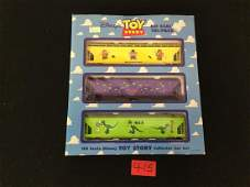 1995 TOY STORY HO SCALE TRI-PACK COLLECTOR TRAIN CAR