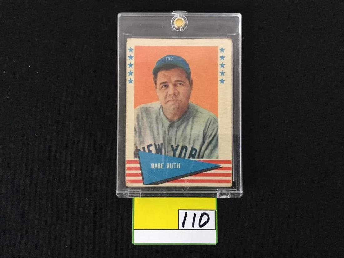 1961 Fleer Babe Ruth #75