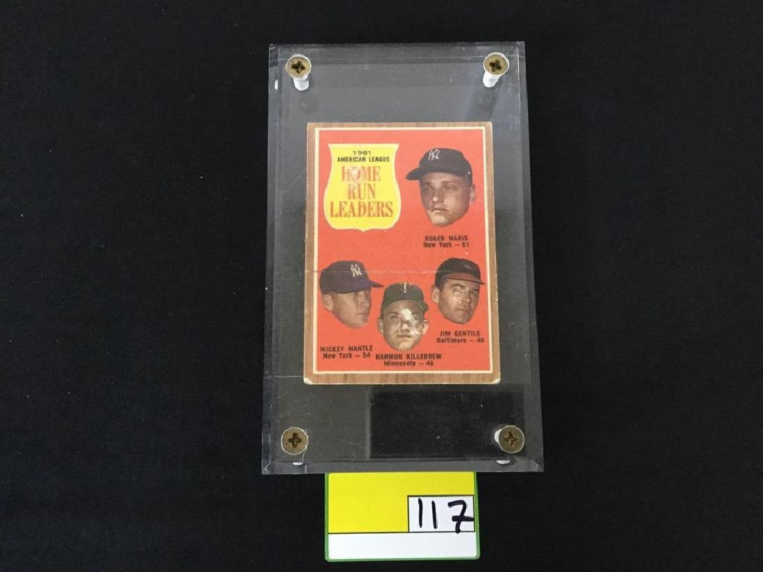 1962 Topps #53 Home Run Leaders