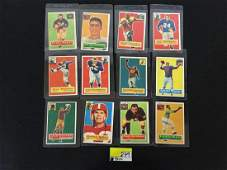 1956 Topps football Partial Set with Many Sp's, Stars,