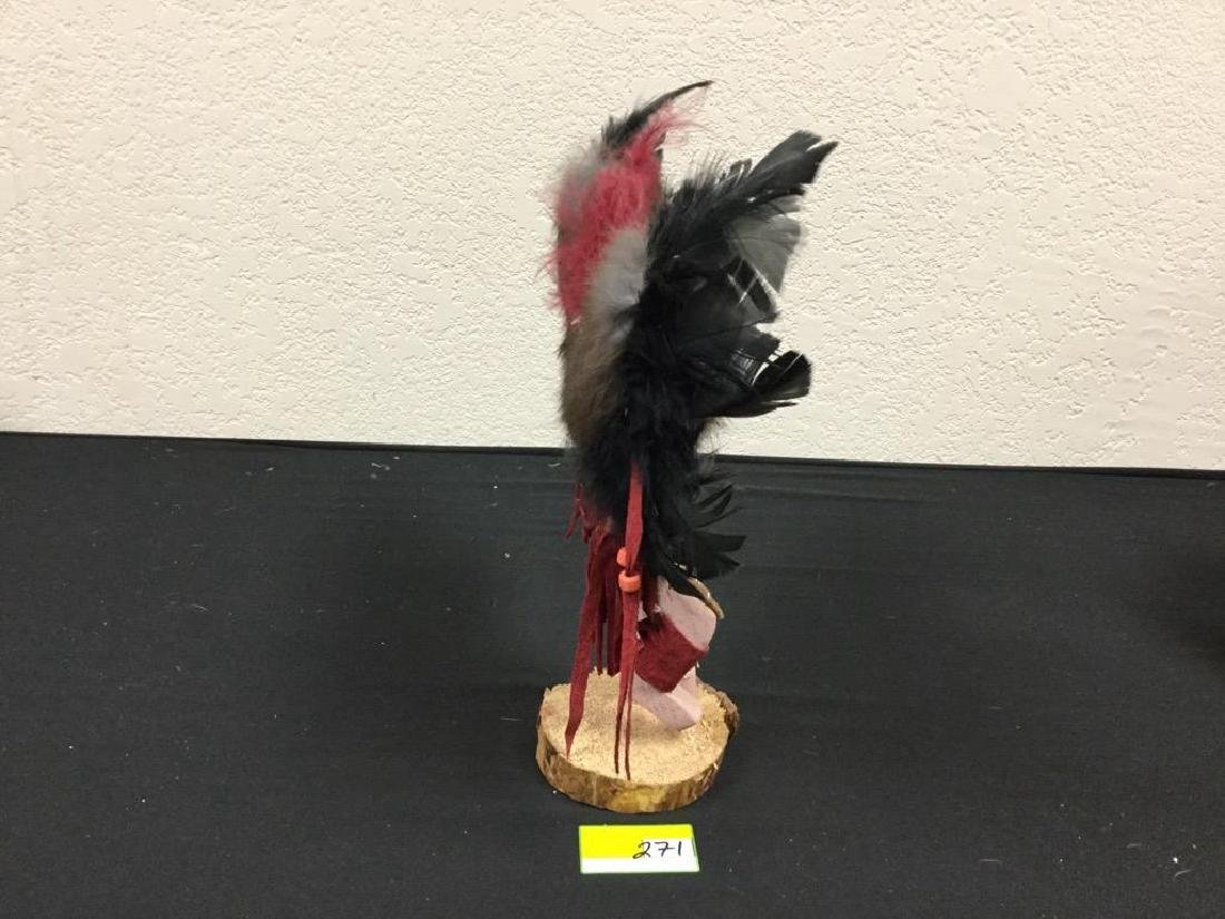 """NATIVE AMERICAN HANDCRAFTED """"EAGLE"""" SIGNED BY ARTIST - 2"""